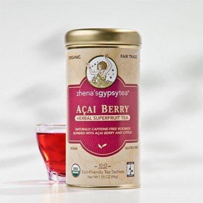 Zhena'S Gypsy Tea Organic Acai Berry Tea ( 6X22 Bag)