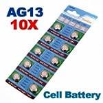 [Envoi GRATUIT 7~12 jours] 10 x AG13...
