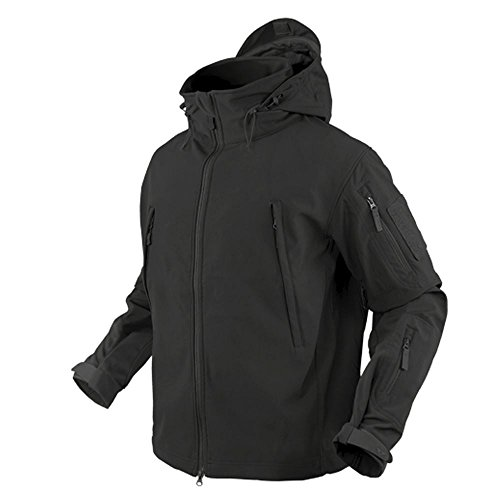 Condor Outdoor COP-602-002-L Soft Shell Jacket, Black - Large (Condor Insulated compare prices)