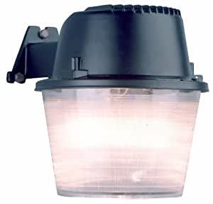 Cooper Lighting MD70HB 70W High Pressure Sodium Entry and Patio Security Dusk to Dawn Area Light, Black
