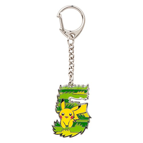 "Pokemon Center Original Keychain ""What's your favorite number?"" [5] - 1"