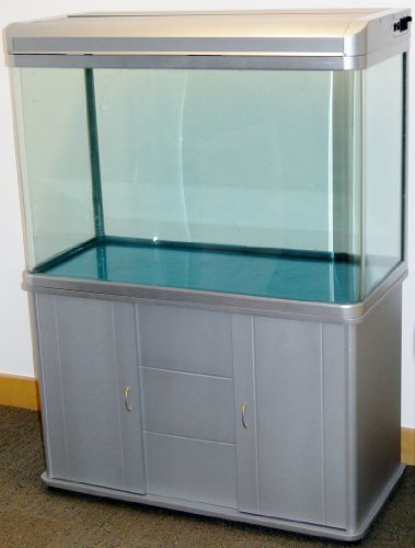 330L Silver Height Added Cabinet Aquarium Fish Tank Tropical / Marine 120cm 4ft with T5 Lighting All Pond Solutions