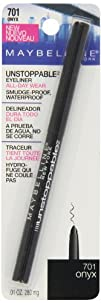 Maybelline New York Unstoppable Eyeliner Onyx 0.01 Ounce
