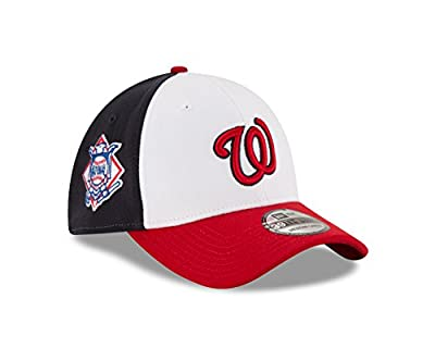 MLB Washington Nationals 2T Patched 39Thirty Stretch Fit Cap