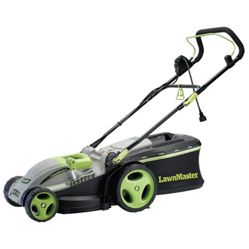 LawnMaster MEB1016M 15-Inch 2-in-1 Electric Mulching Mower picture