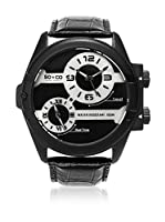 SO & CO New York Reloj con movimiento cuarzo japonés  Negro 53 mm