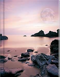 Notizbuch - Blank Book - Mond