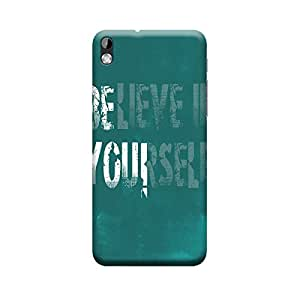 Digi Fashion Designer Back Cover with direct 3D sublimation printing for HTC Desire 816