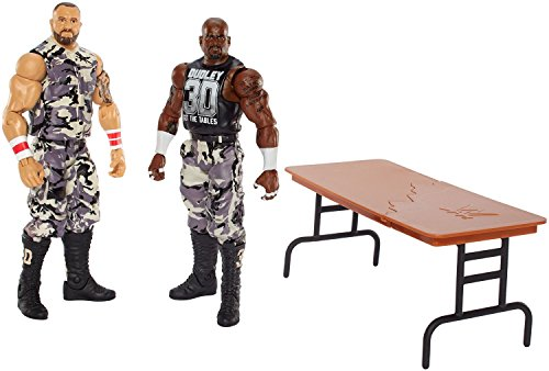 Super Hero WWE Devon Dudley and Bubba Ray Dudley Hero Series Action Figures Toys, 2 Pack