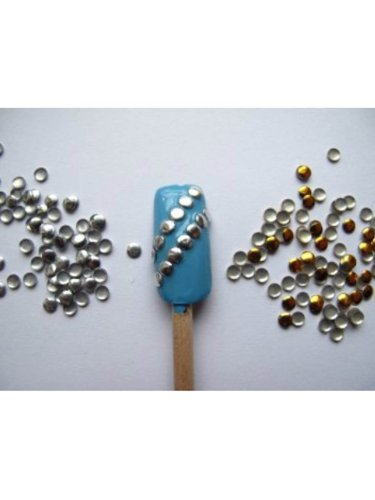 Sellingpillar Nail Art 300 Pieces Gold ...