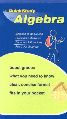 Algebra (Quickstudy: Academic)