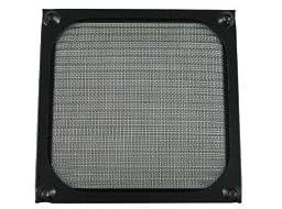 120mm Black Anodized Aluminum Computer PC Case Fan Grill / Guard / Filter