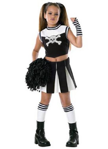 Child Bad Spirit Cheerleader Costume