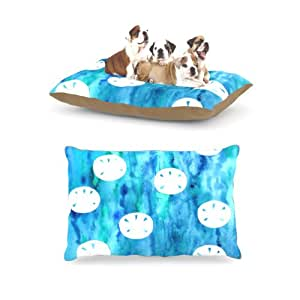 "Amazon.com : Kess InHouse Rosie Brown ""Sandollars"" Fleece Dog Bed, 30"