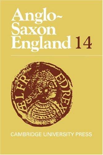 Anglo-Saxon England: Volume 14