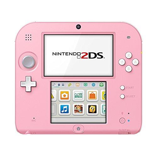 Nintendo 2DS - Konsole (White + Pink)
