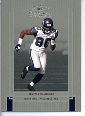 2005 Donruss Classics Football Card #85 Jerry Rice Seattle Seahawks