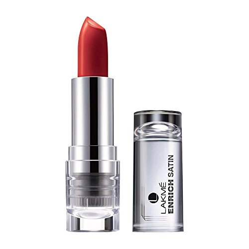 Lakme Enrich Satins Lip Color, Shade R357, 4.3 g