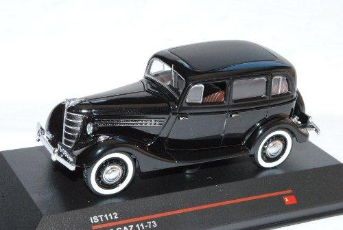 GAZ 11-73 1942 Schwarz Ist112 1/43 Ist Ixo Modell Auto