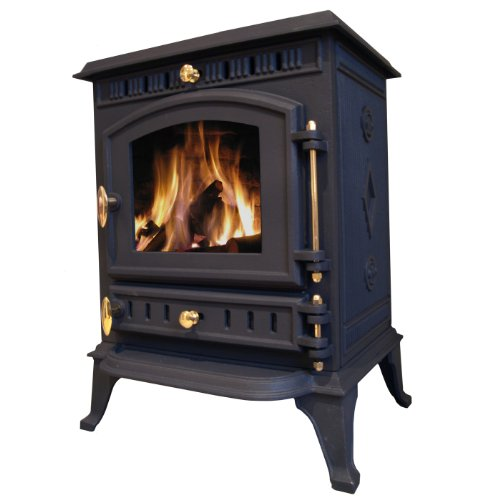 Balmoral 8kw Cast Iron Wood Burning Log Burner Multi-fuel Stove