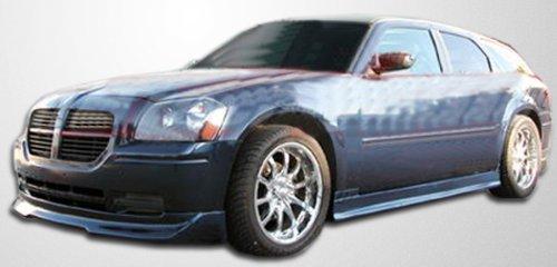 2005-2007 Dodge Magnum Duraflex Quantum Body Kit - 5 Piece - Includes Quantum Front Lip Under Spoiler Air Dam (106009) Quantum Side Skirts Rocker Panels (106010) Quantum Rear Add On Bumper Extensions (106011)