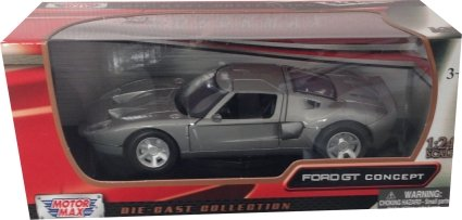Ford GT Concept in silver 1:24 scale model