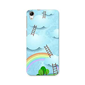 ArtzFolio Climbing To The Sky : HTC Desire 728G Dual Sim Matte Polycarbonate ORIGINAL BRANDED Mobile Cell Phone Protective BACK CASE COVER Protector : BEST DESIGNER Hard Shockproof Scratch-Proof Accessories