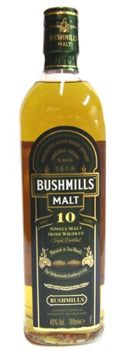 Bushmills 10yr Old Malt Whisky - 700ml