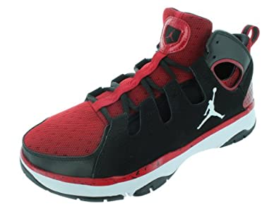 Nike Men's NIKE JORDAN LEGEND TR TRAINING SHOES 9 Men US (BLACK/WHITE/GYM RED)