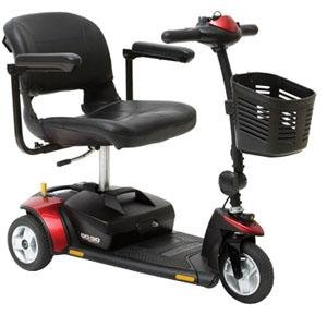 Pride Mobility Go-Go Elite Traveller® 4-Wheel Scooter