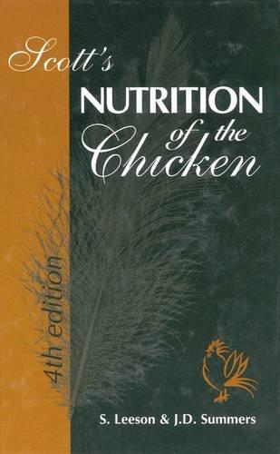Scott's Nutrition of the Chicken: v. 4