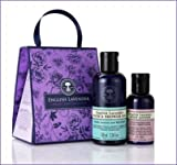 Neal's Yard Remedies NEW English Lavender Organic Body Collection: Bath & Shower Gel 100ml, Body Lotion 50ml