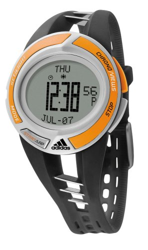 Adidas ADP1419 Stainless Steel Gents Rubber strap Performance Digital Watch