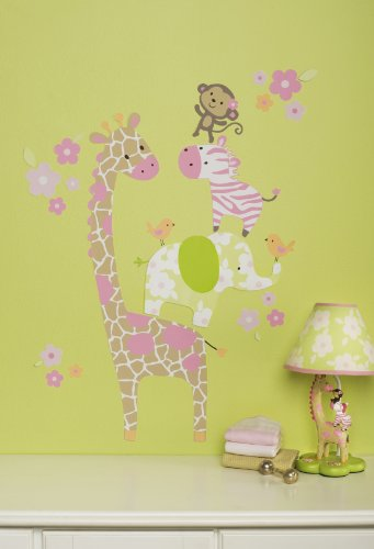 Carter's Jungle Jill Wall Decals (Discontinued by Manufacturer)