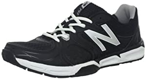 New Balance Men's MX797v2 Cross-Training Shoe,Black/Silver,11 D US