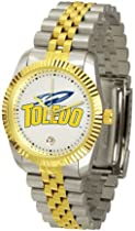 Toledo Rockets NCAA Mens Steel Executive Watch