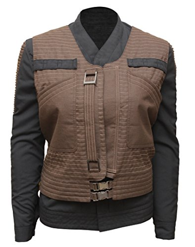Star Wars Rogue One Jyn Erso Womens Jacket with Vest L