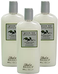 3x Graham Webb Green Tea Normalizing Conditioner 350ml