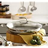 "Tupperware 14"" Chef Series 4 Quart Professional Casserole Paella Stir Fry Pan"