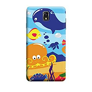 Ebby Premium Printed Mobile Back Case Cover With Full protection For Samsung Note 3 (Designer Case)