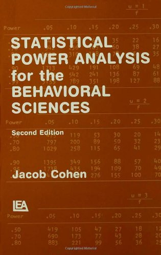 Statistical Power Analysis for the Behavioral Sciences...