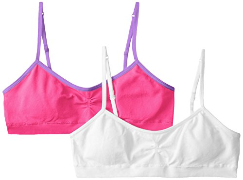 Hanes Girl's Seamless Foam Bra (Pack of 2)