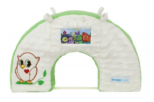 Snuggwugg Interactive Baby Pillow Tummy Time Diaper Changing Toddler Travel front-600202