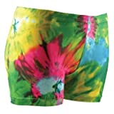 Gem Sports Tie Dye Volleyball Compression Shorts - Sublimated - SIZE: Medium