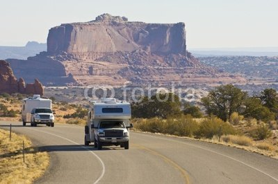 Wallmonkeys Peel and Stick Wall Decals - Rv Vacation in American Southwest - 18