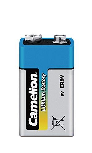 Camelion 19000122 Lithium Batterien ER9/ 9 Volt Block/ 1 Stück