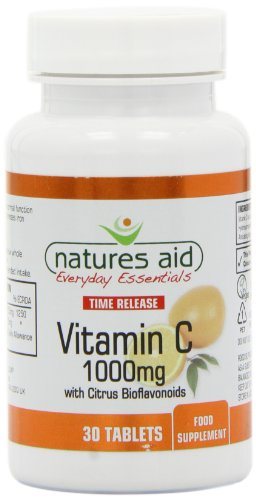 Natures Aid Vitamin C Tablets 1000mg Pack of 30