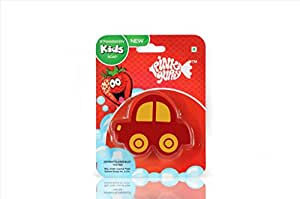 Pink Guppy Pink Guppy Kids Strawberry fragrant, Car Shaped Bathing Bar for Kids