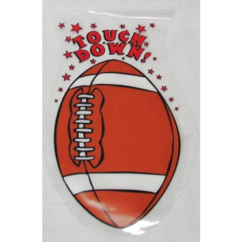 Football Shaped Goody Bags (17 Pack)