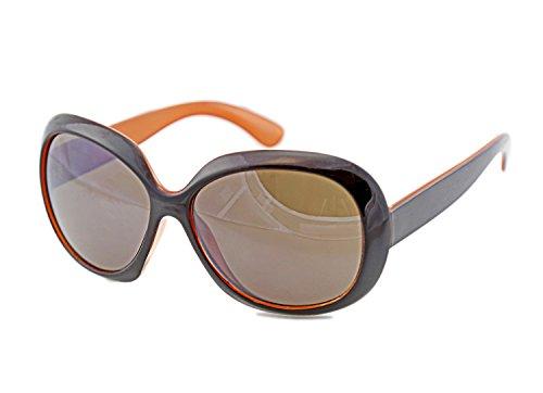 Sonnenbrille Braune Gläser Damensonnenbrille Frauen Sonnenbrille X1